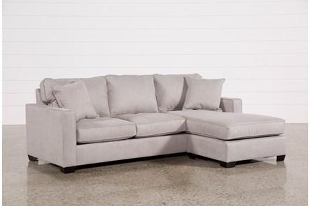 Egan II Cement Sofa W/Reversible Chaise