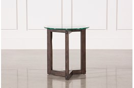 Riker Round End Table