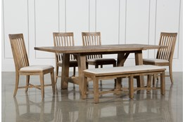 Market 6 Piece Dining Set With Side Chairs