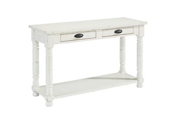 Magnolia Home Bobbin Sofa Table By Joanna Gaines