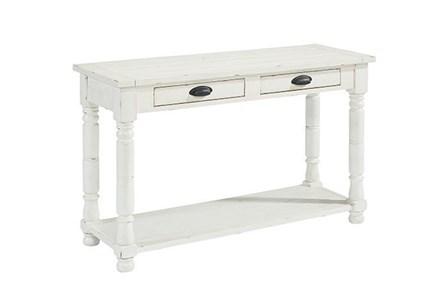 Magnolia Home Bobbin Sofa Table By Joanna Gaines