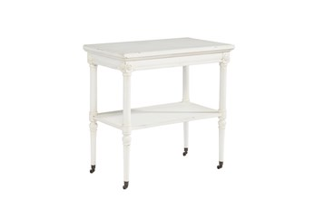 Magnolia Home Petite Rosette White Accent Table By Joanna Gaines