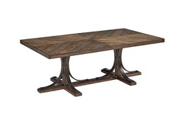 Magnolia Home Iron Trestle Cocktail Table By Joanna Gaines