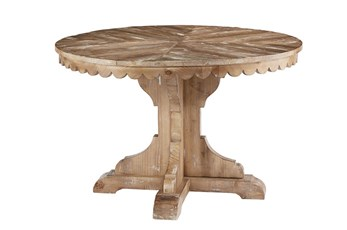 Magnolia Home Top Tier Round Dining Table By Joanna Gaines