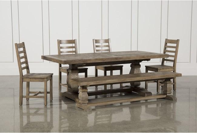 Caden 6 Piece Rectangle Dining Set - 360
