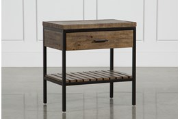 Foundry Open Nightstand