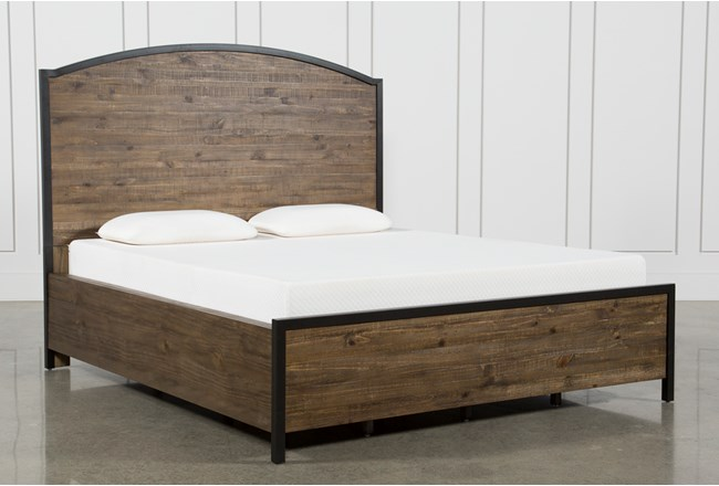 Foundry California King Panel Bed - 360