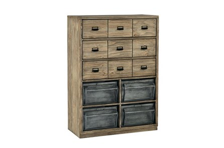 Magnolia Home Workshop Chest With Metal Bins By Joanna Gaines