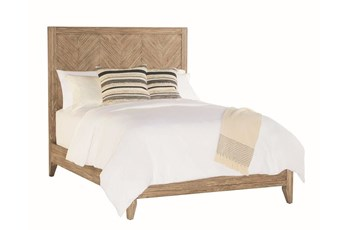 Magnolia Home Herringbone Queen Panel Bed By Joanna Gaines