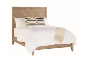 Magnolia Home Herringbone Eastern King Panel Bed By Joanna Gaines