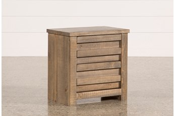 Sawyer Grey Nightstand
