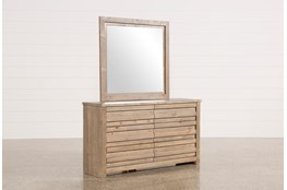 Sawyer Grey Dresser/Mirror