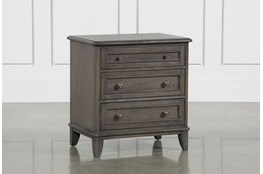 Candice II 3-Drawer Nightstand