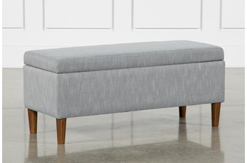 Dean Grey Storage Bench