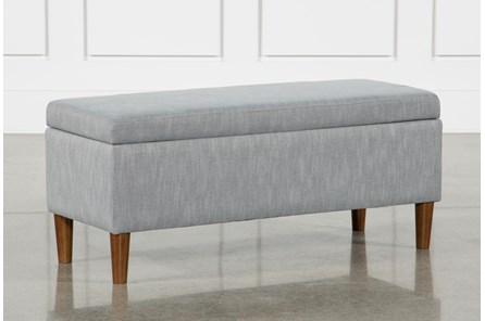Dean Grey Storage Bench