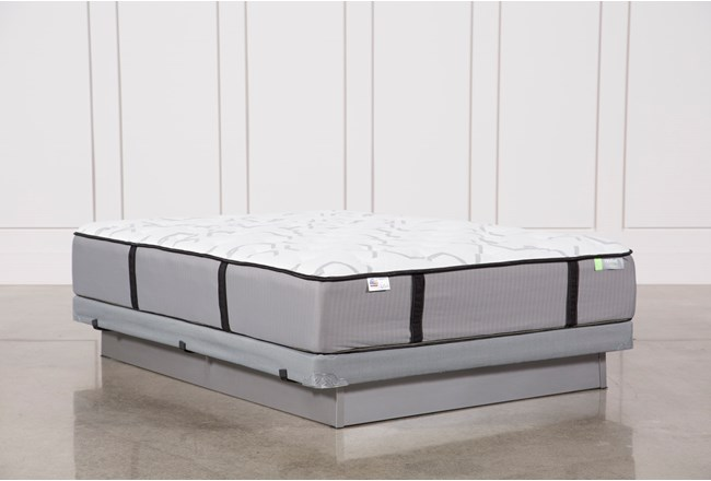 Gel Springs Firm Queen Mattress W/Low Profile Foundation - 360