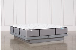 Gel Springs Firm California King Mattress W/Low Profile Foundation