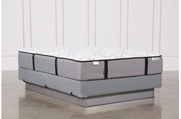 Gel Springs Medium Queen Mattress W/Foundation