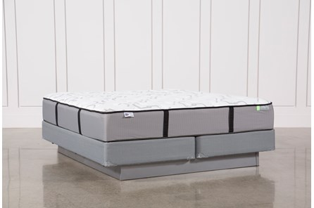 Gel Springs Medium California King Mattress W/Foundation