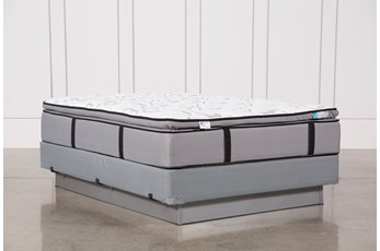 Gel Springs Plush Full Mattress W/Foundation