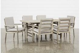 Outdoor PompeII 7 Piece Dining Set