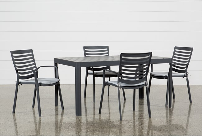 Outdoor Andaz 5 Piece Dining Set - 360
