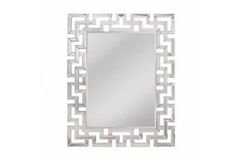 Mirror-Shaped Glass 35X45
