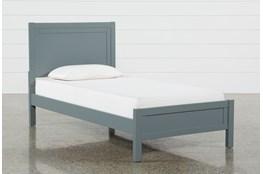 Hayden Grey Twin Panel Bed