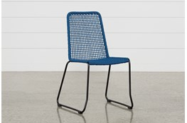 Pilo Blue Side Chair