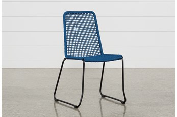 Pilo Blue Side Chair