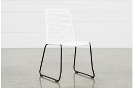 Pilo White Side Chair