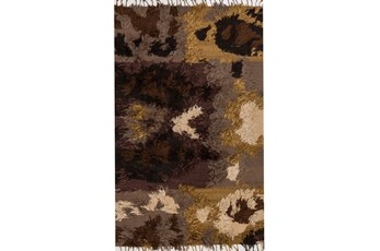 96X120 Rug-Justina Blakeney Fable Shag Walnut