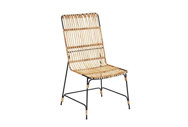 Magnolia Home Entwine Rattan Side Chair By Joanna Gaines - 360