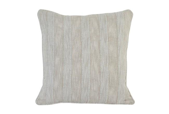 Accent Pillow-Heritage Linen Pebble 22X22 - 360