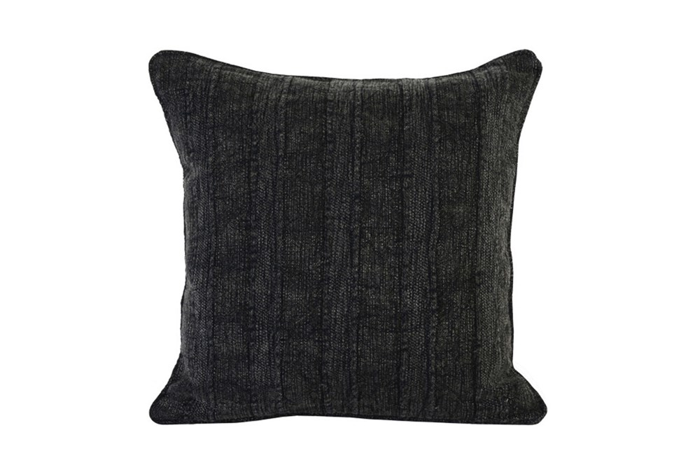 Accent Pillow-Heritage Linen Onyx 22X22