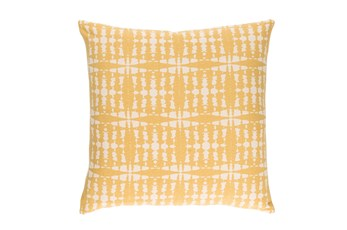 Accent Pillow-Jetson Yellow 22X22