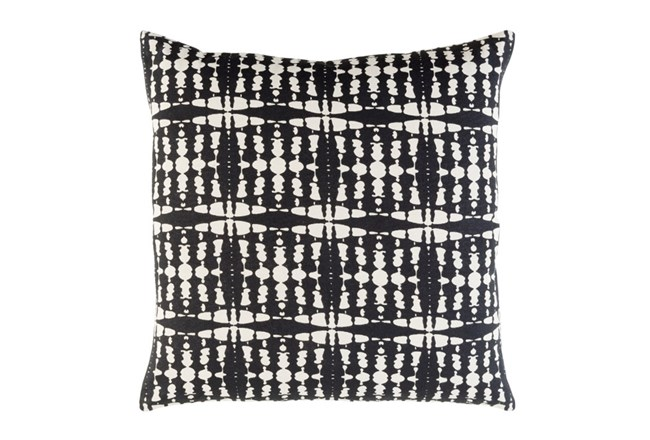 Accent Pillow-Jetson Black 22X22 - 360