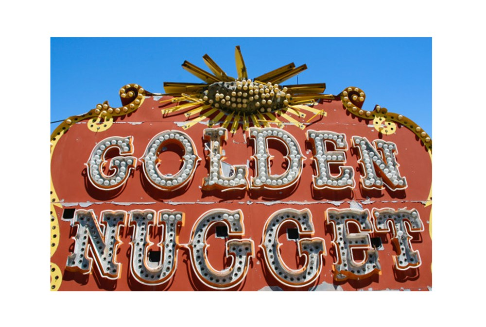 Picture-36X24 Golden Nugget