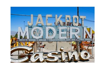 Picture-45X30 Jackpot Modern