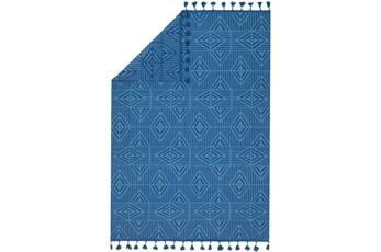 93X117 Rug-Justina Blakeney Kahelo Blue/Lt Blue