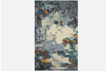 96X120 Rug-Matiz Blue/Gold