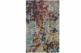 42X66 Rug-Matiz Blue/Berry