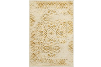 63X90 Rug-Soraya Tribal Gold