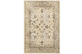 94X130 Rug-Valley Tapestry Cream