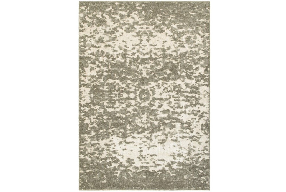 94X130 Rug-Xandra Spotted Light Grey