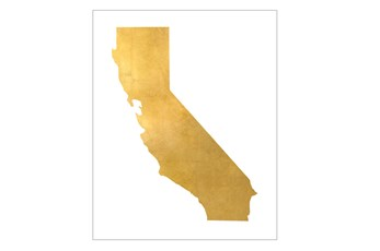 Picture-30X37 Metallic Golden Land Ca
