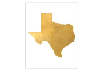 Picture-24X30 Metallic Golden Land Tx