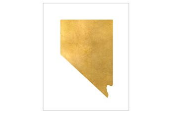 Picture-24X30 Metallic Golden Land Nv