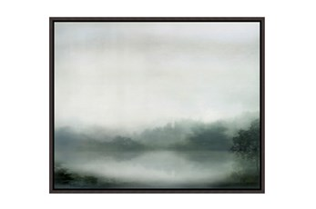 Picture-37X30 Overcast Mornings Framed