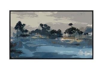 Picture-42X24 Austral Indigo Framed